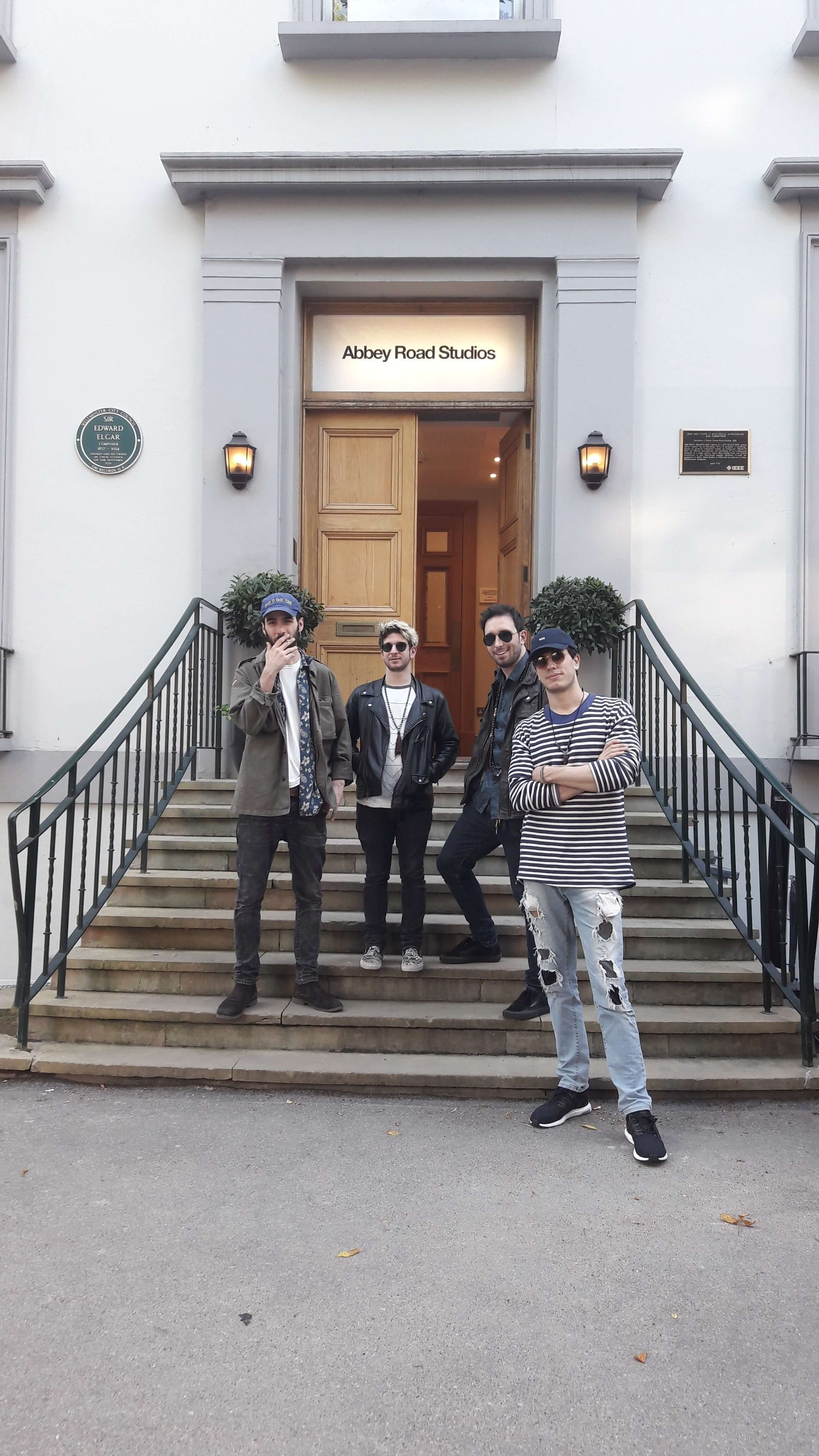 Keemosabe at Abbey Road Studios