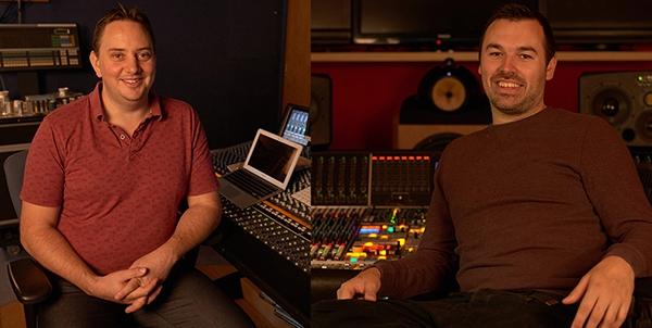 Andrew Dudman & Paul Pritchard, Abbey Road Studios Engineers