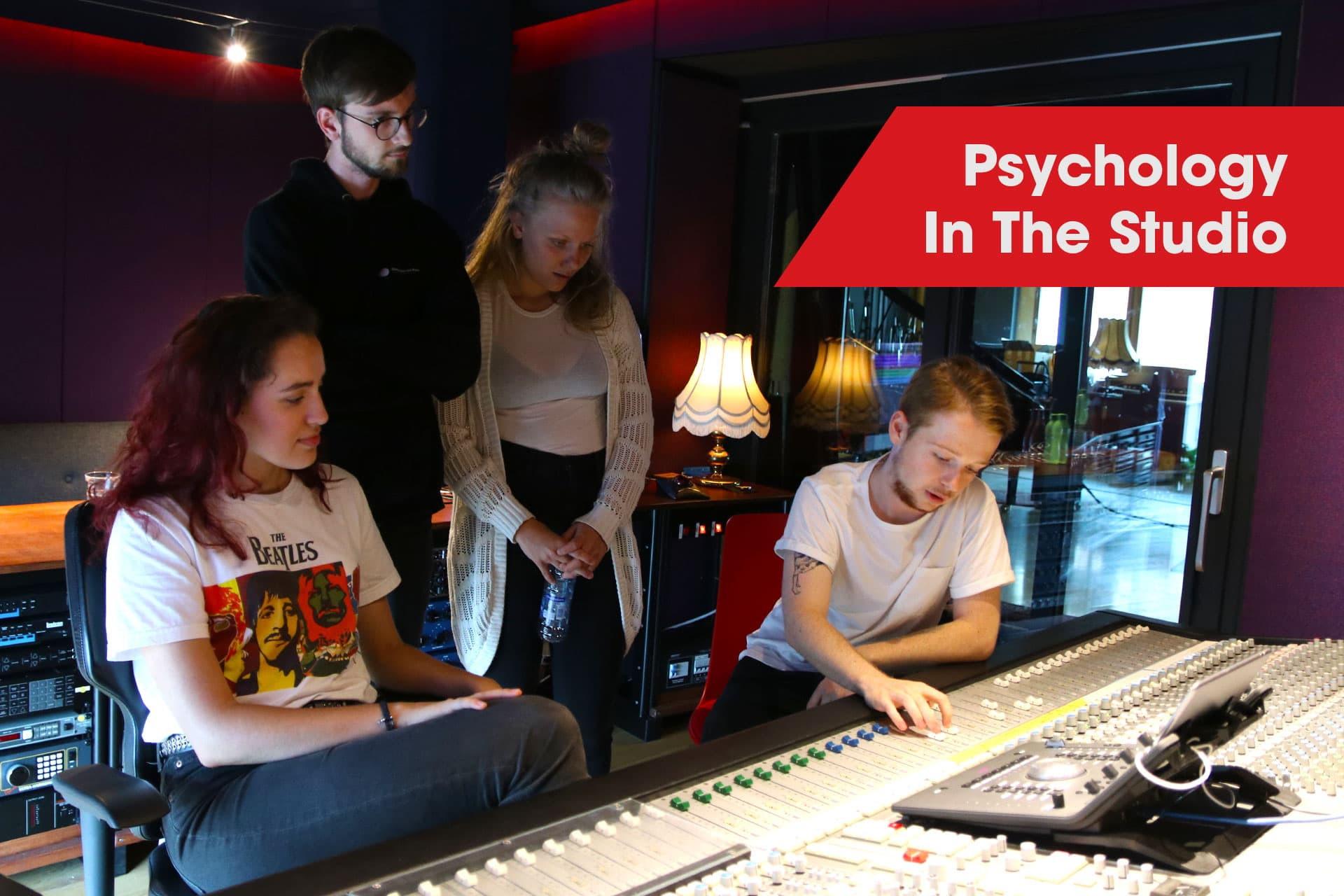 psychology in the recording studio