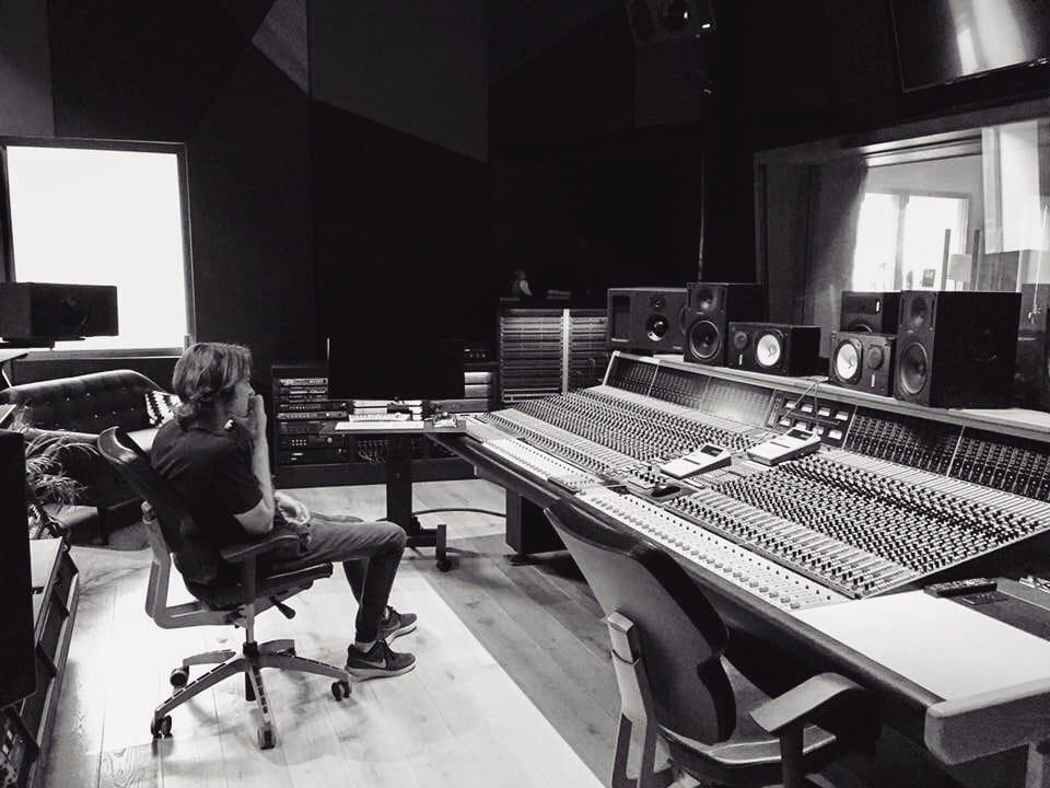 Ethan Frantz (TRIP) in the studio