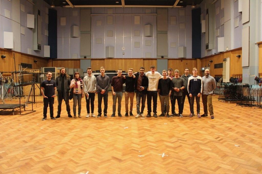 Die Absolventen aus Berlin im Studio 1