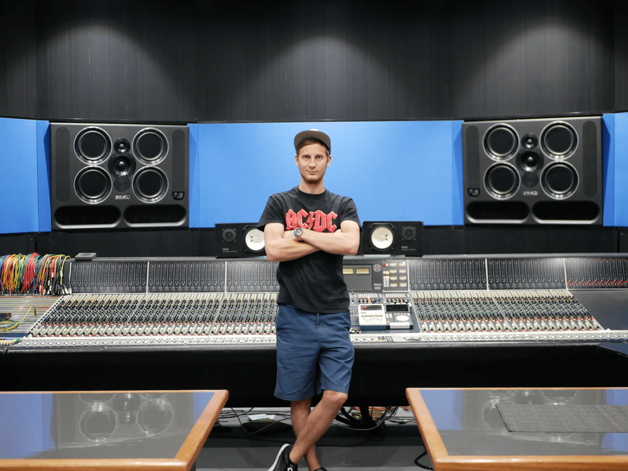Markus Winter at Studios 301